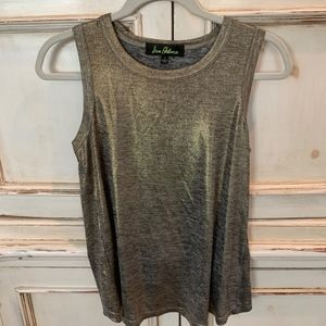 Sam Edelman Gold Sleeveless Top